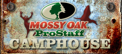 Welcome to Mossy Oak Pro Staff Camphouse